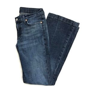 7 For All Mankind Dojo Denim Flare Jeans